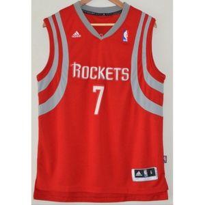ADIDAS NBA HOUSTON ROCKETS LIN 7 BASKETBALL JERSEY
